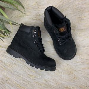 Toddler Boys Black Timberland Boots Size 8c
